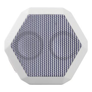 USA kennzeichnen die blauen und weißen Streifen Weiße Bluetooth Lautsprecher