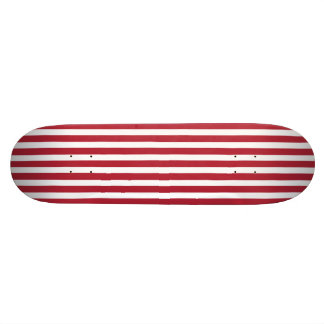 USA kennzeichnen die roten und weißen Streifen Personalisiertes Skateboard