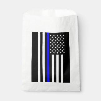 USA kennzeichnen dünnes symbolisches Denkmal Blue Geschenktütchen