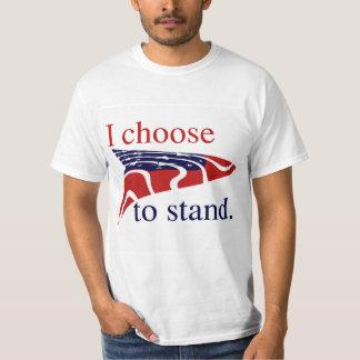 USA kennzeichnen mich beschließen zu stehen T-Shirt