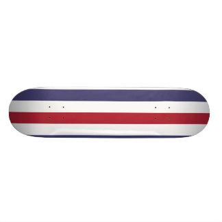 USA kennzeichnen Rot und kennzeichnen blaue breite Bedrucktes Skateboard