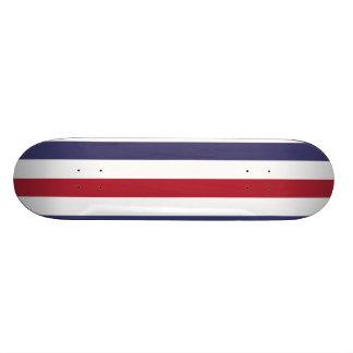 USA kennzeichnen Rot und kennzeichnen blaue breite Personalisiertes Skateboard