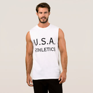 USA-Leichtathletik Ärmelloses Shirt