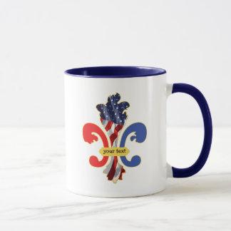 USA-Lilie fertigen kundenspezifisch an Tasse
