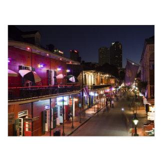 USA, Louisiana, New Orleans. Französisches Postkarte