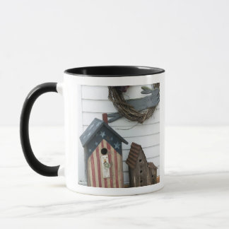 USA, Missouri, Herman: Patriotische Birdhouses, Tasse
