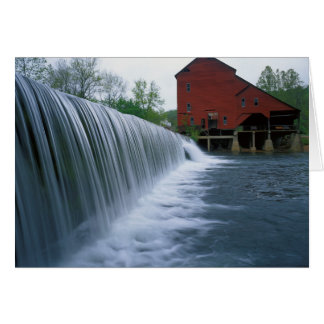 USA, Missouri, Ozark County, Rockbridge Mühle Karte