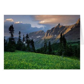 USA, Montana, Glacier Nationalpark, Karte