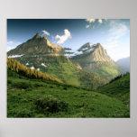 USA, Montana, Glacier Nationalpark Plakatdruck