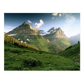 USA, Montana, Glacier Nationalpark Postkarte