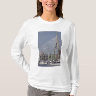 USA, Neu-England, Massachusetts, Boston, Boote T-Shirt