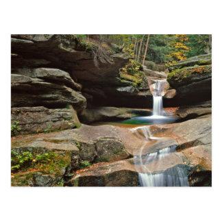 USA, Neu-England, New Hampshire, weiße Berge Postkarte