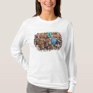 USA, New Mexiko, Santa Fe: Im Stadtzentrum T-Shirt