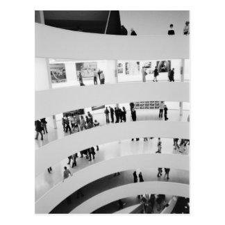 USA, New York, New York City: Das Guggenheim 2 Postkarten