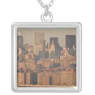 USA, New York, New York City, Manhattan: 12 Versilberte Kette