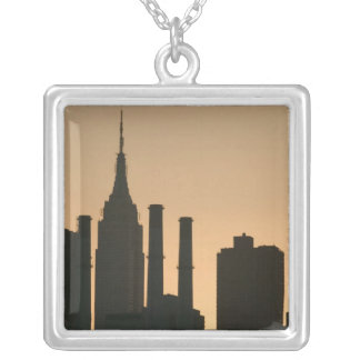 USA, New York, New York City, Manhattan: 6 Versilberte Kette