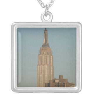 USA, New York, New York City, Manhattan: 7 Versilberte Kette