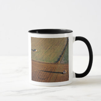 USA, North Dakota, Washburn. Späte helle Würfe Tasse