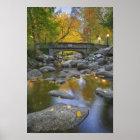 USA, Oregon, Ashland, Lithia Park. Herbst Poster