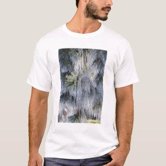 USA, Oregon, Biegung. Das Eis auf Ponderosa Kiefer T-Shirt