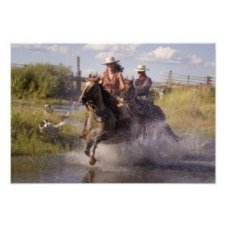 USA, Oregon, Seneca, Ponderosa Ranch. Cowboy 2 Fotografie
