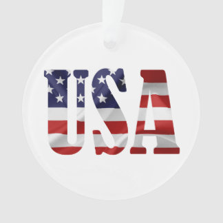 USA patriotisch Ornament