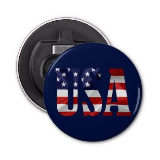USA patriotisch Runder Flaschenöffner