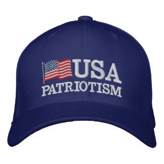 USA-Patriotismus-Flagge RB Baseballmütze