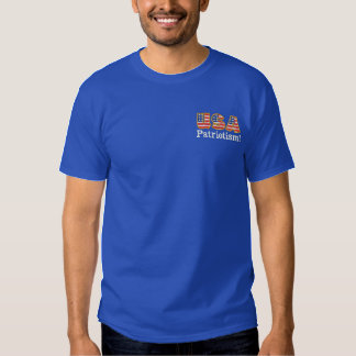USA-Patriotismus! Logo B1 Besticktes T-Shirt