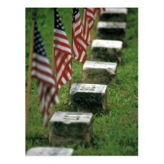 USA, Pennsylvania, Gettysburg. Ziviler Krieg Postkarte