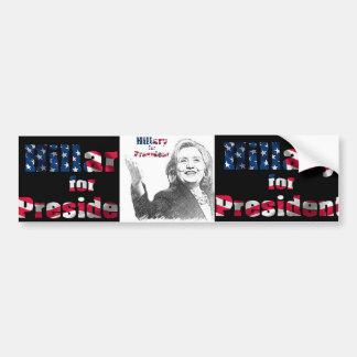 USA-Präsidentenwahl-Autoaufkleber 2016 Autoaufkleber
