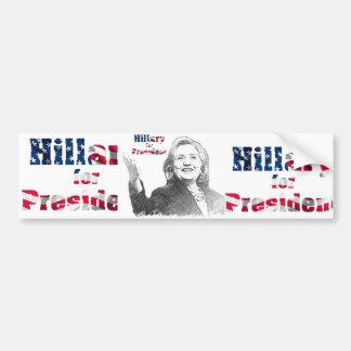 USA-Präsidentenwahl-Autoaufkleber Autoaufkleber
