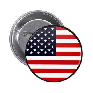 USA-Qualität Flaggen-Kreis Anstecknadelbutton