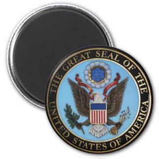 USA richten Hoffnung aus Runder Magnet 5,1 Cm