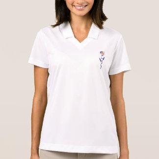 USA-Rose Polo Shirt