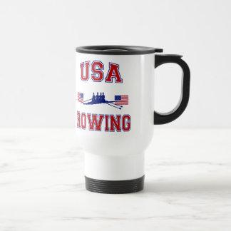 USA Rudern Reisebecher