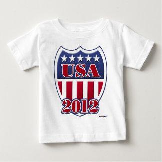 USA schirmen 2012 ab Baby T-shirt
