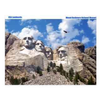 USA-Sehenswürdigkeitbild für Postkarte