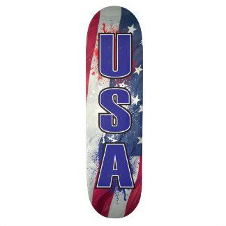 USA-Skateboard Personalisierte Skatedecks