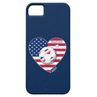 USA Soccer National Team Fußball von den Vereinigt iPhone 5 Cover