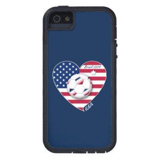 USA Soccer National Team Fußball von den Vereinigt iPhone 5 Etui