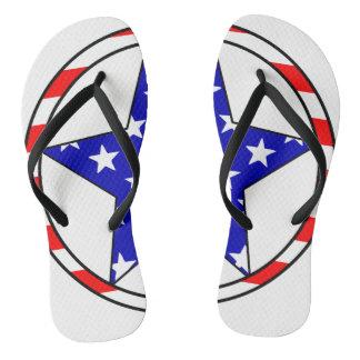 USA-Sterne Flip Flops