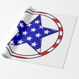USA-Sterne Geschenkpapier
