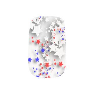 USA-Sterne Minx Nagelkunst