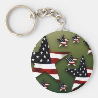 USA-Sterne Schlüsselanhänger