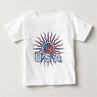 USA-Sternexplosion Yin Yang Baby T-shirt