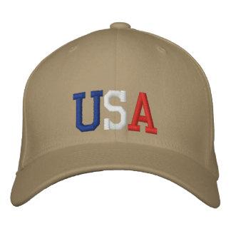 USA stickten Hut Besticktes Baseballcap