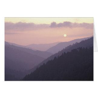 USA, Tennessee. Große Smokey Berge 2 Karte