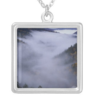 USA, Tennessee. Große Smokey Berge national Versilberte Kette