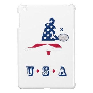 USA-Tennis Amerikanerspieler iPad Mini Hülle